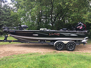 The boat I use is perhaps the most roomy and versatile fishing machine on the market today.