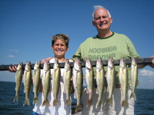 Otter Tail Lake Walleye Fishing with Minnesota Guide Service
