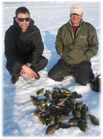 Late ice blugills and panfish