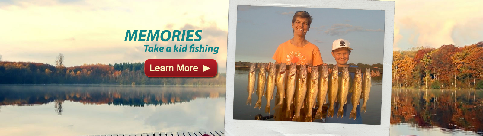 Take a kid fishing in Minnesota with Captain Josh and Minnesota Guide Service